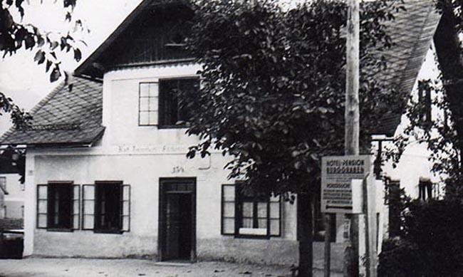 1908 – Start als Bäckerei