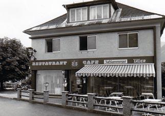 1981 – Wiedereröffnung als Cafe und Restaurant