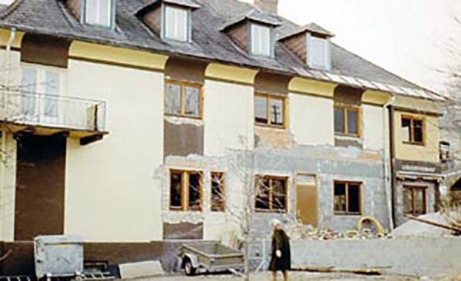 1984 – Umbau der Backstube und des Cafés in das derzeitige Restaurant